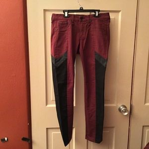 Rag & Bone/Intermix Limited Edition Jean Burgundy